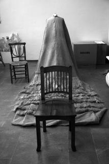 La novia de tiempo (making-of). Rossana Zaera