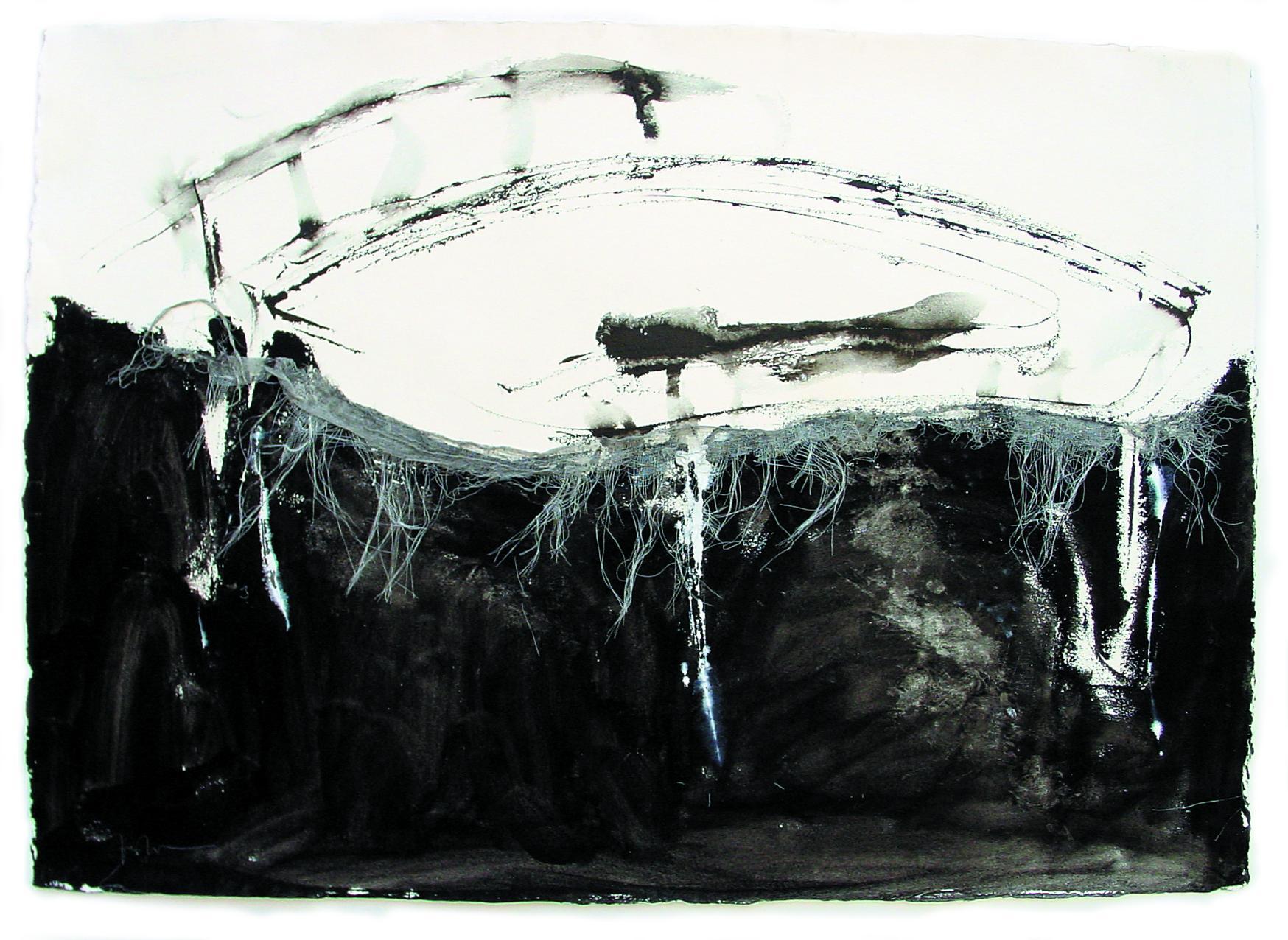 Cama Blanca sobre negro (2001) - Rossana Zaera Clausell