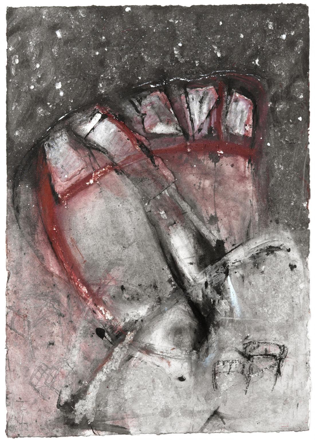 Cama para el espacio II (2001) - Rossana Zaera Clausell