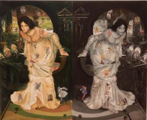 The Last Gaze/Oil Painting 2013