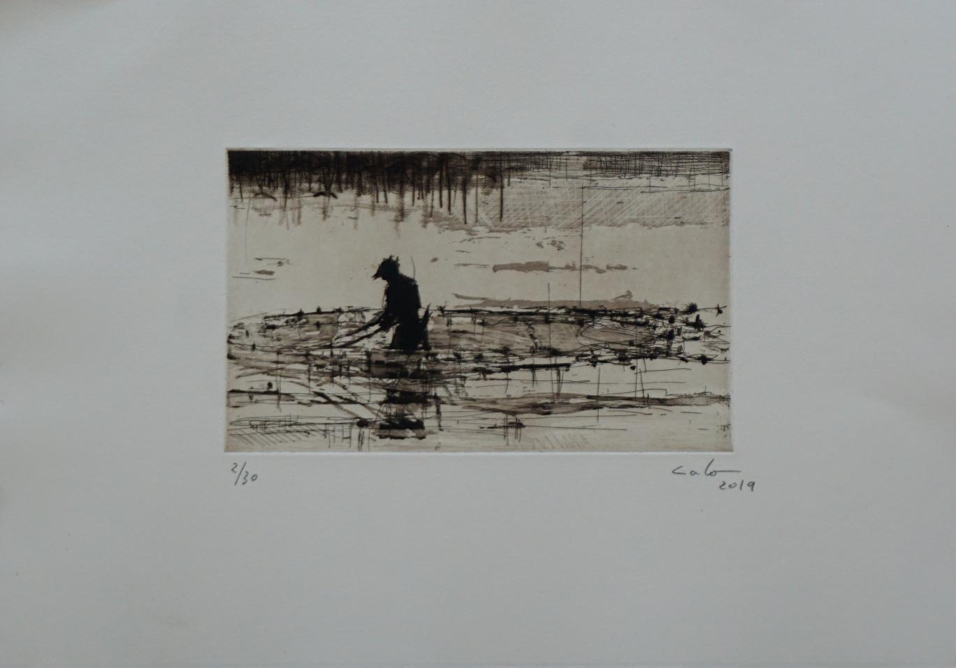 Pescadores de Bagamoyo n3 (2019) - Calo Carratalá