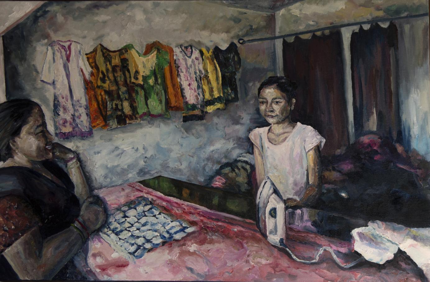 La planchadora (2018) - J. Martos Latorre