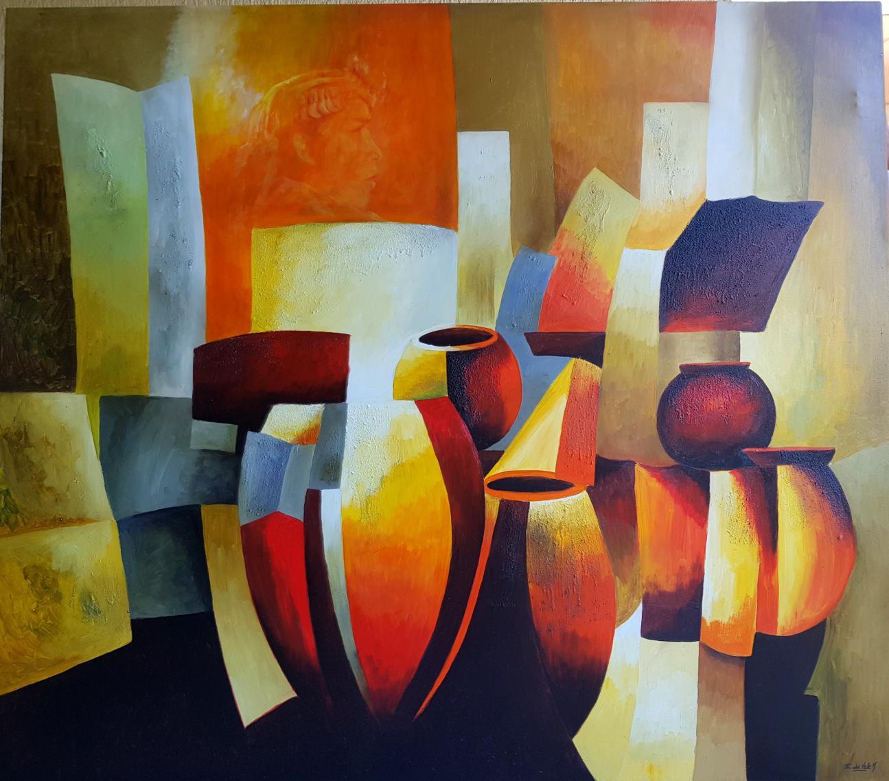"""""""JARRONES ORIGINARIOS I"""" (2018) - Estela del Valle Mañez"""