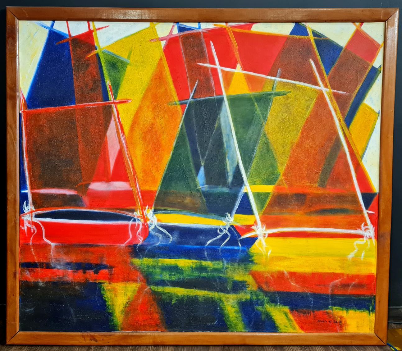 """""""VELAS en colores PRIMARIOS"""" (2007) - Estela del Valle Mañez"""