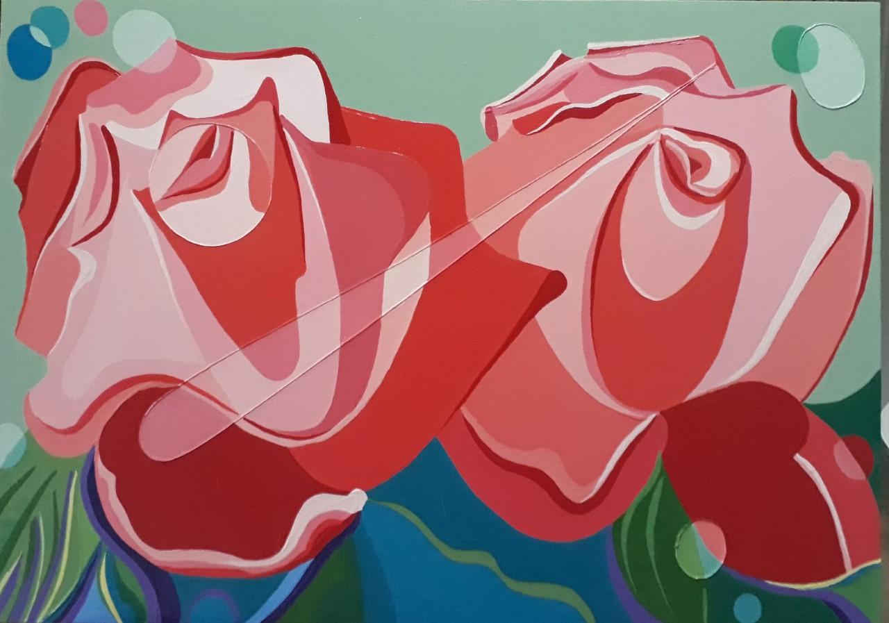 Bolhas em Flores III