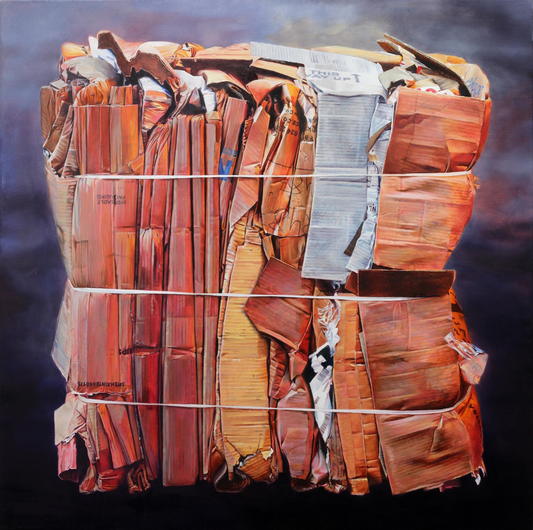 Cardboard Bale (2017) - David Agenjo