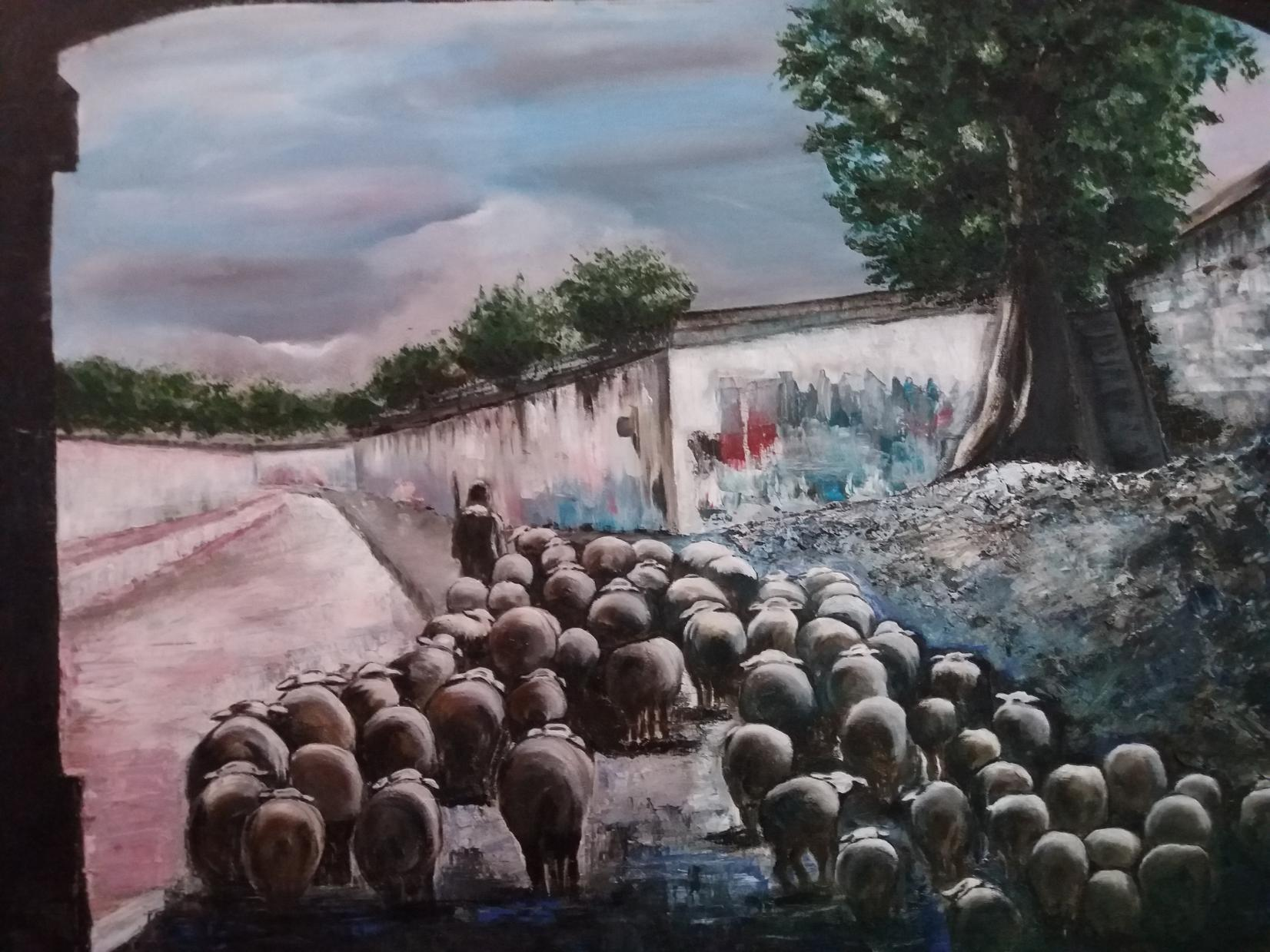 Debajo del puente (2015) - Pilar Jané Abelló - P. Jané