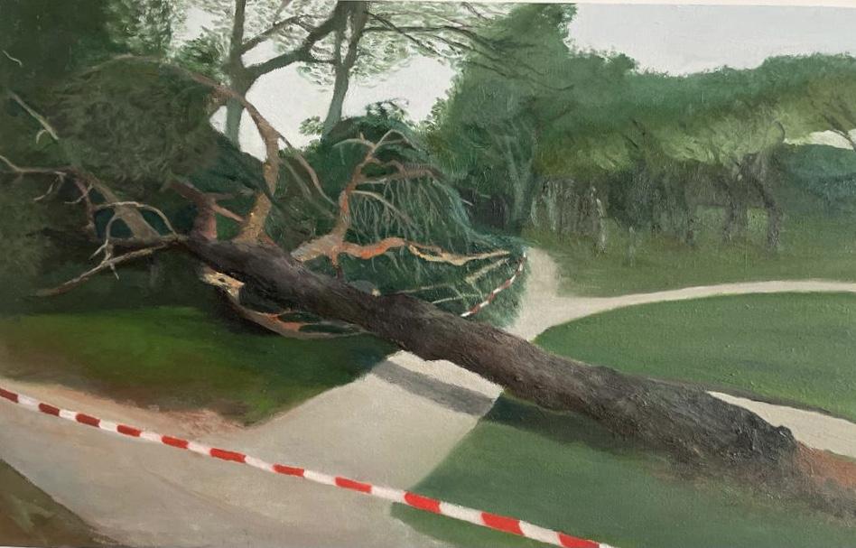 """""""El árbol caído"""" (2020) - Mónica Tamames"""