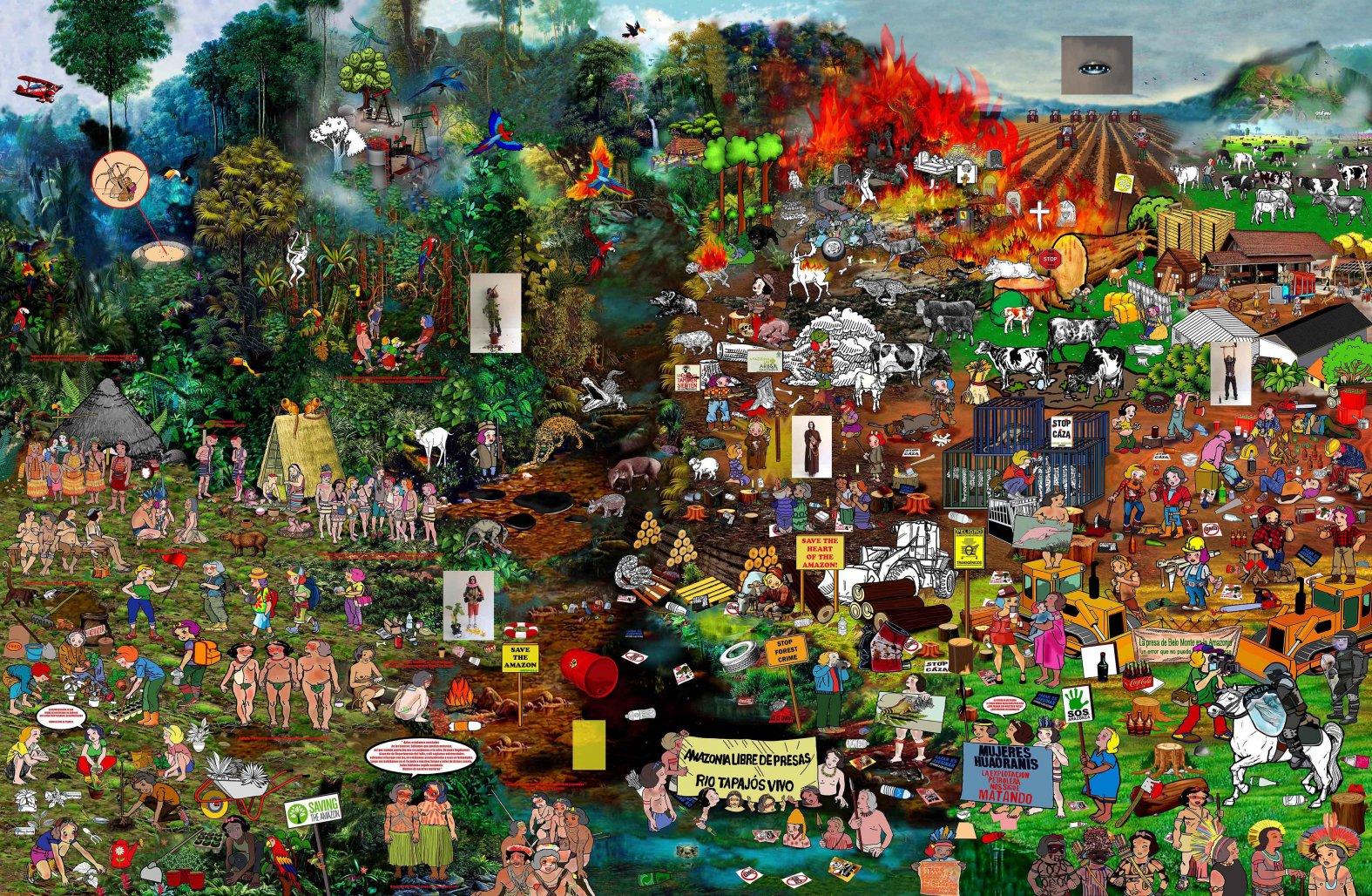 Save the Amazon! (2017) - Sandra Paula Fernández