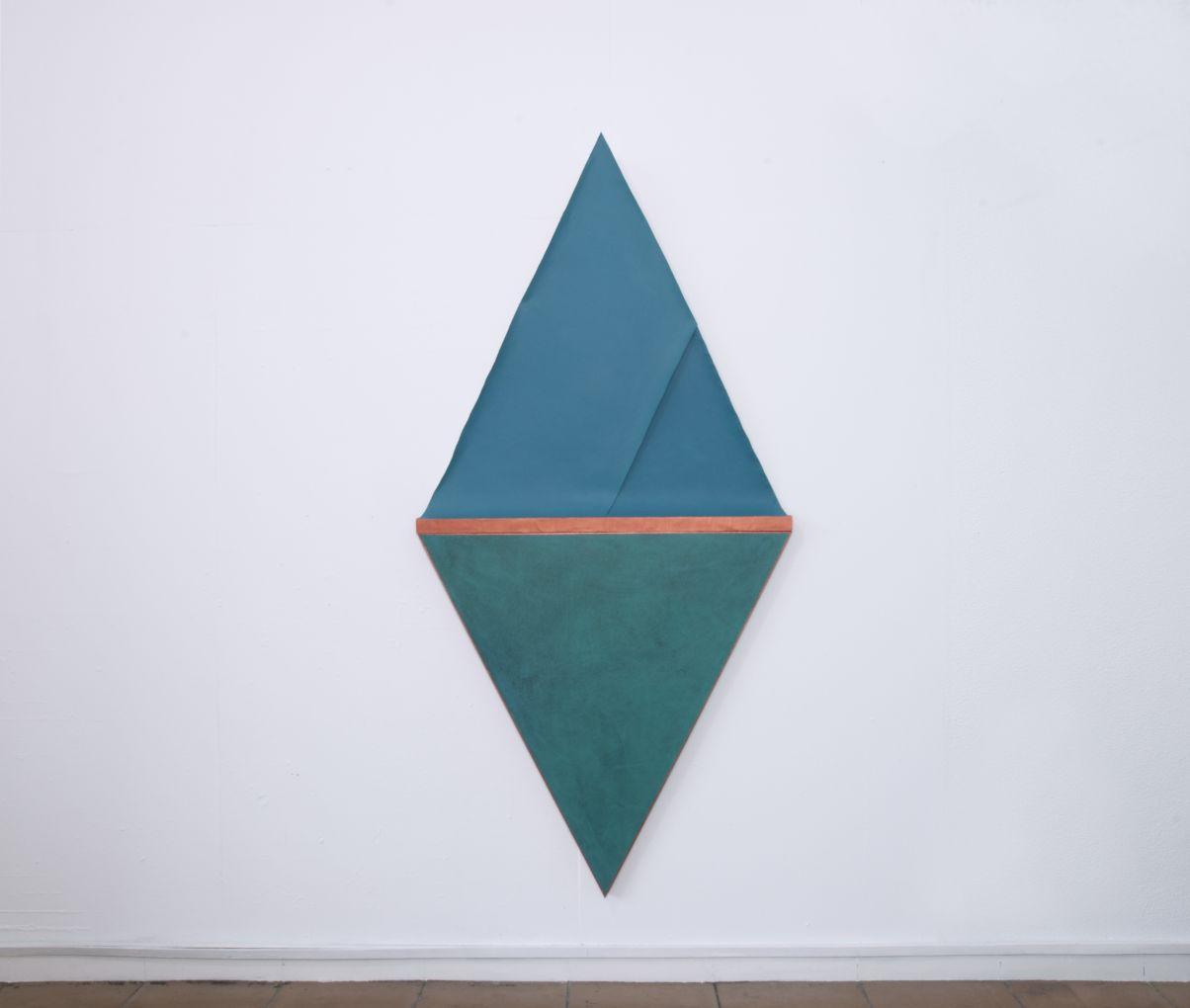 Folded copper II (2020) - Silvia Lerín