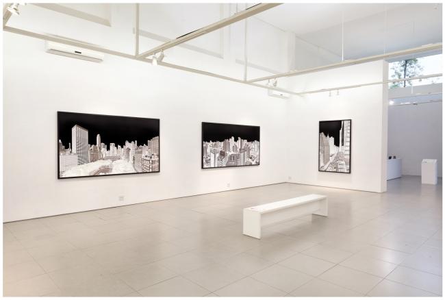 Andre Lichtenberg, Within Series, instalation image 2, Galeria Bolsa de Arte