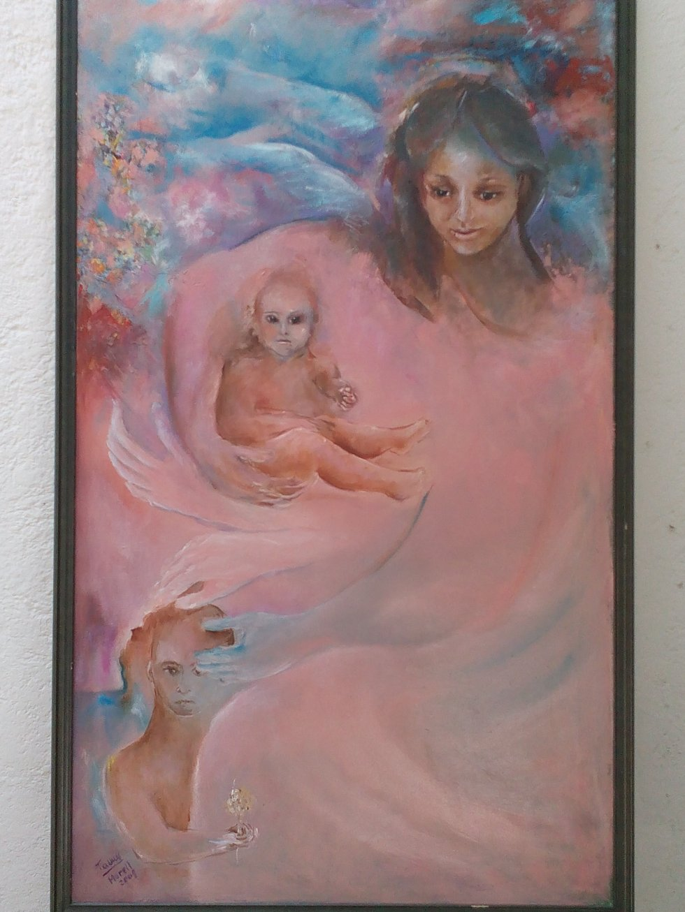 Madre con hijos (2009) - Fannie Martinez Morell - Fanny Morell