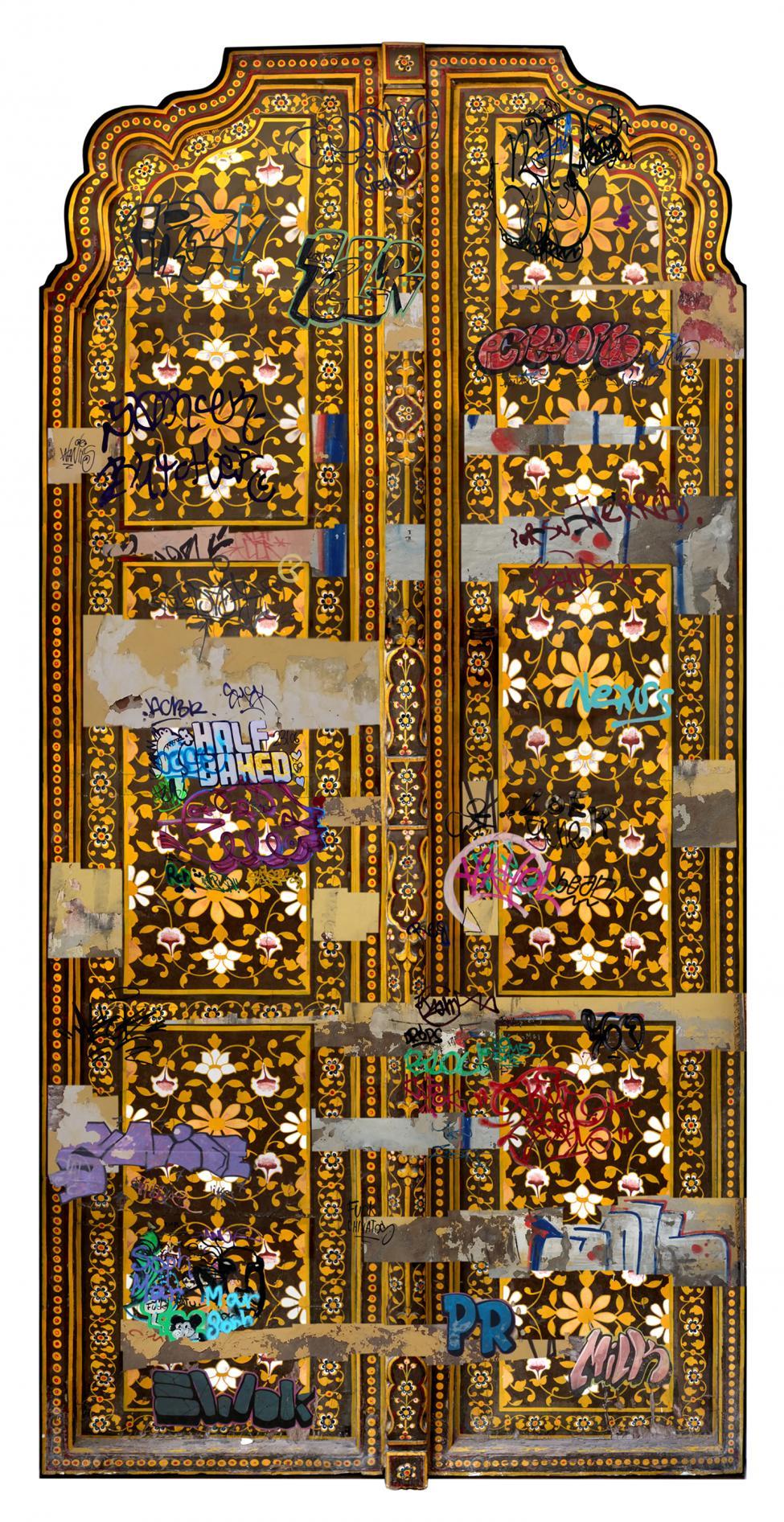 MOTI MAHAL PALACE DOOR - JODHPUR. (2016) - Miriam Durango
