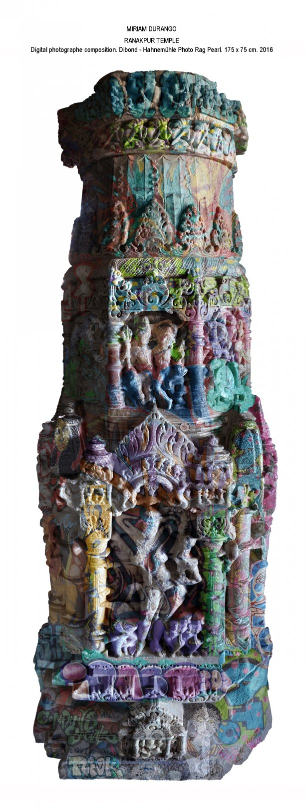 Templo de Ranakpur (2016) - Miriam Durango