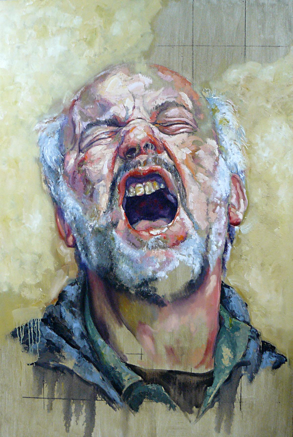 El grito ( Autorretrato) (2013) - Pablo Schugurensky