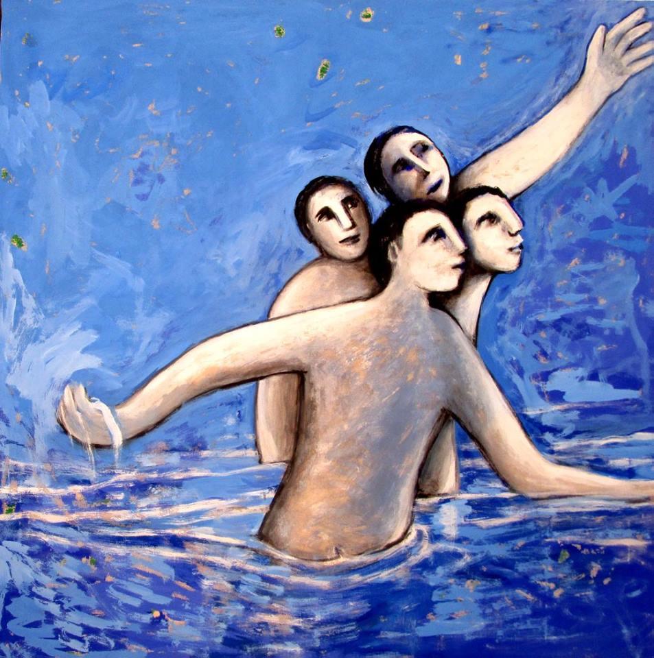4 BAÑISTAS (2017) - Manuel Maqueda Merino - MMM
