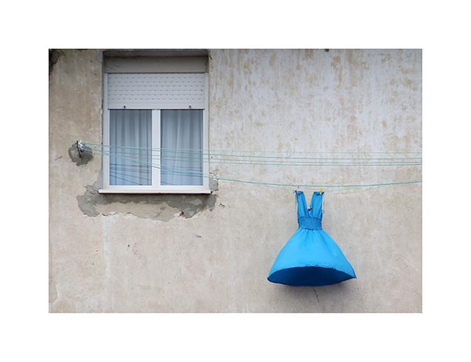 Vestido azul (2014) - Sara Berasaluce Duque