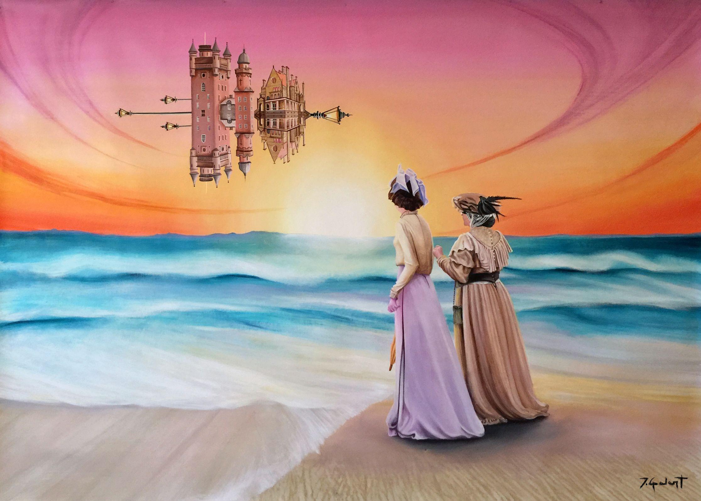 Visiting The Victorian Spaceship's Beach (2016) - José Galant
