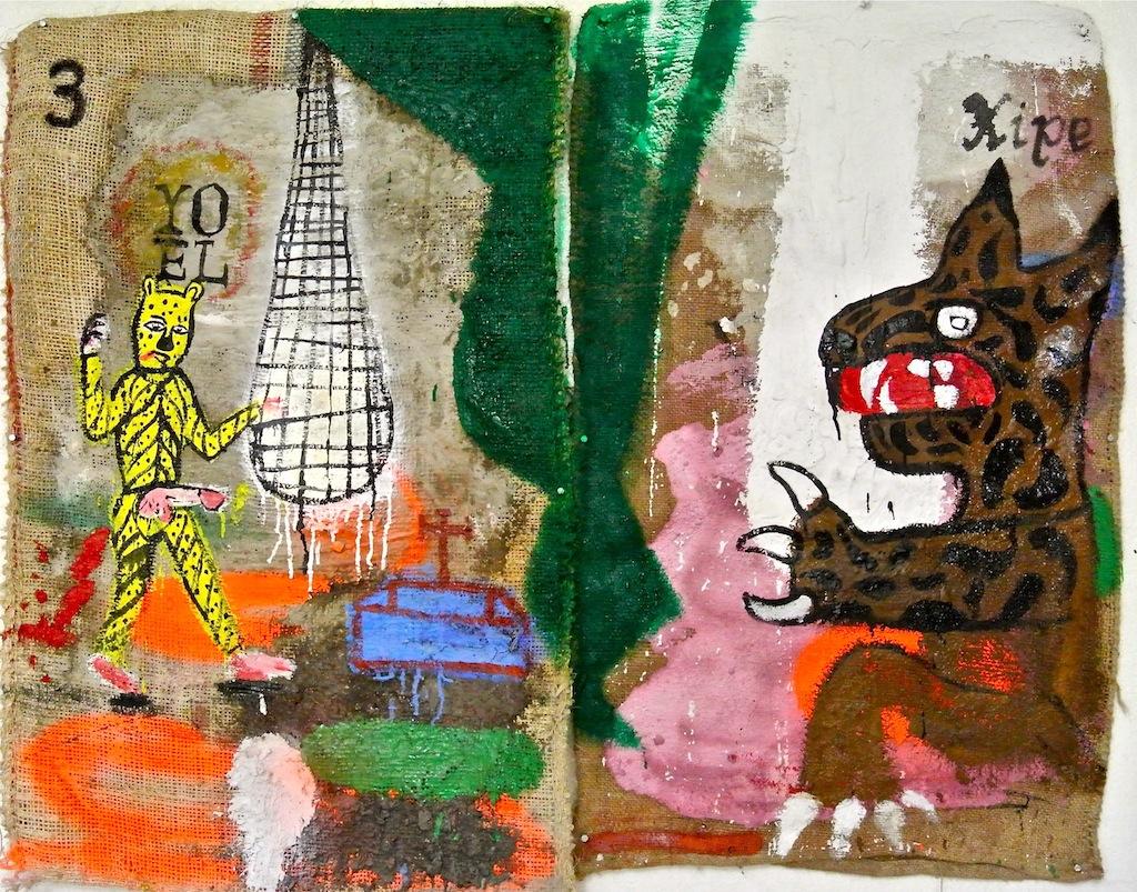 A quien pueda interesar (Retablo de Cholula II) (2014) - Cuco