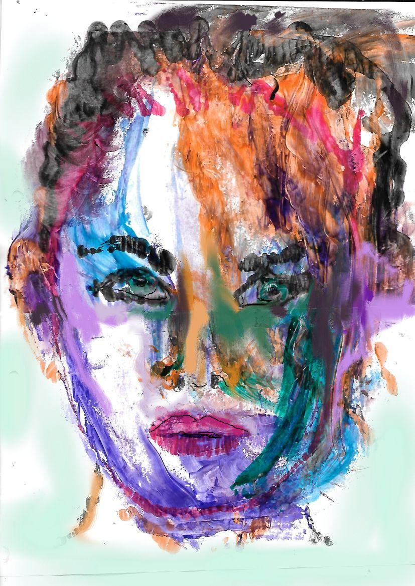 Rostro femenino (2018) - Adriana N Casabella