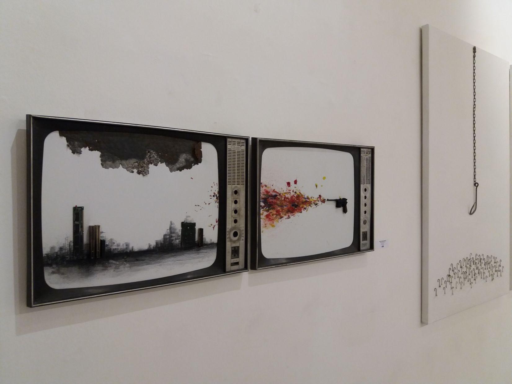 """ Disparo de felicidad "" (2016) - Jormay González Monduy - MonduyART"