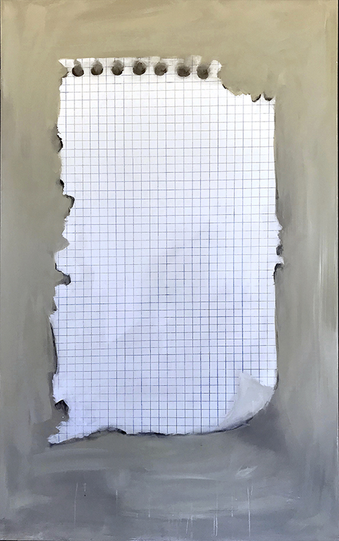 "metapintura II ""poema invisible"" (2019) - Pablo Fernández-Pujol"