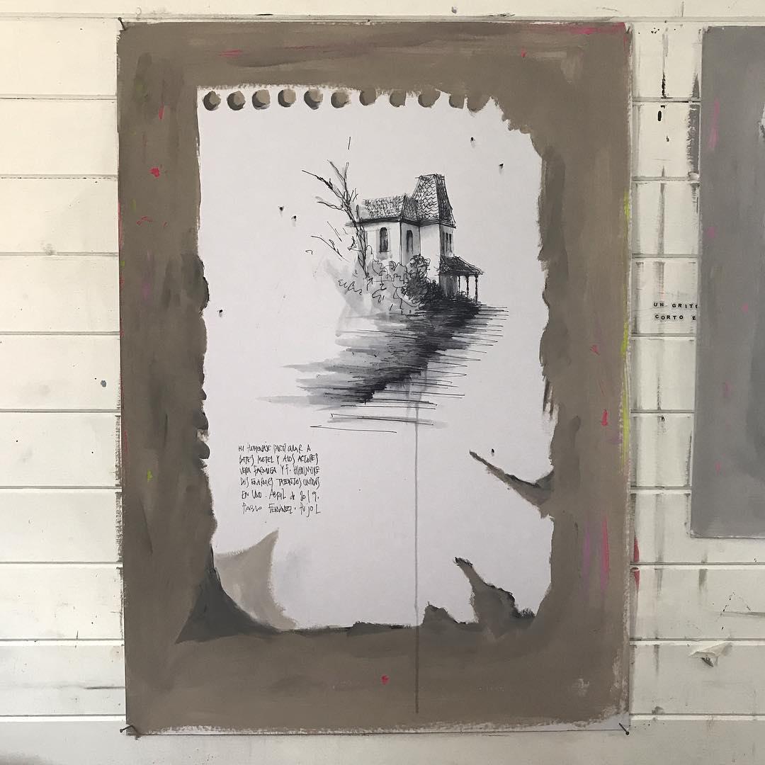 meta pintura IV (homenaje a la Bates Motel) (2019) - Pablo Fernández-Pujol