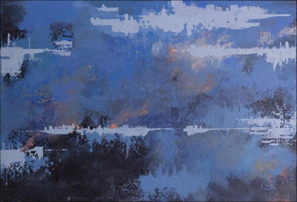 Blue Sunset (2020) - Dimas Arrieta