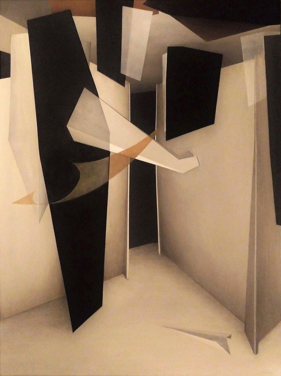 Serie - Entre Figuras VII (2019) - Luis Alberto Romero Monasterio