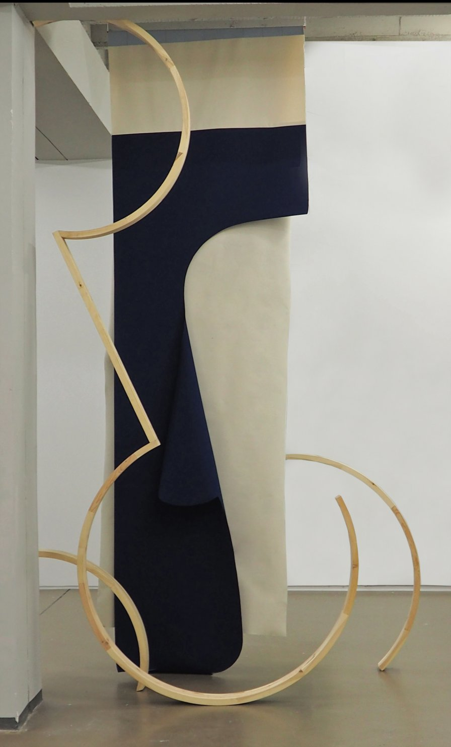 Decorative Elements (background/figure) (2017) - Leonor Serrano Rivas