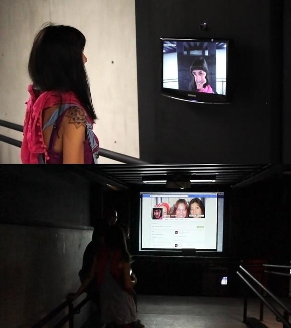 Rostro Desconocido, 2013. API de reconocimiento facial / acción en internet