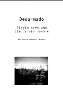 Portada Libro Desarmado | Poema y Fotografías