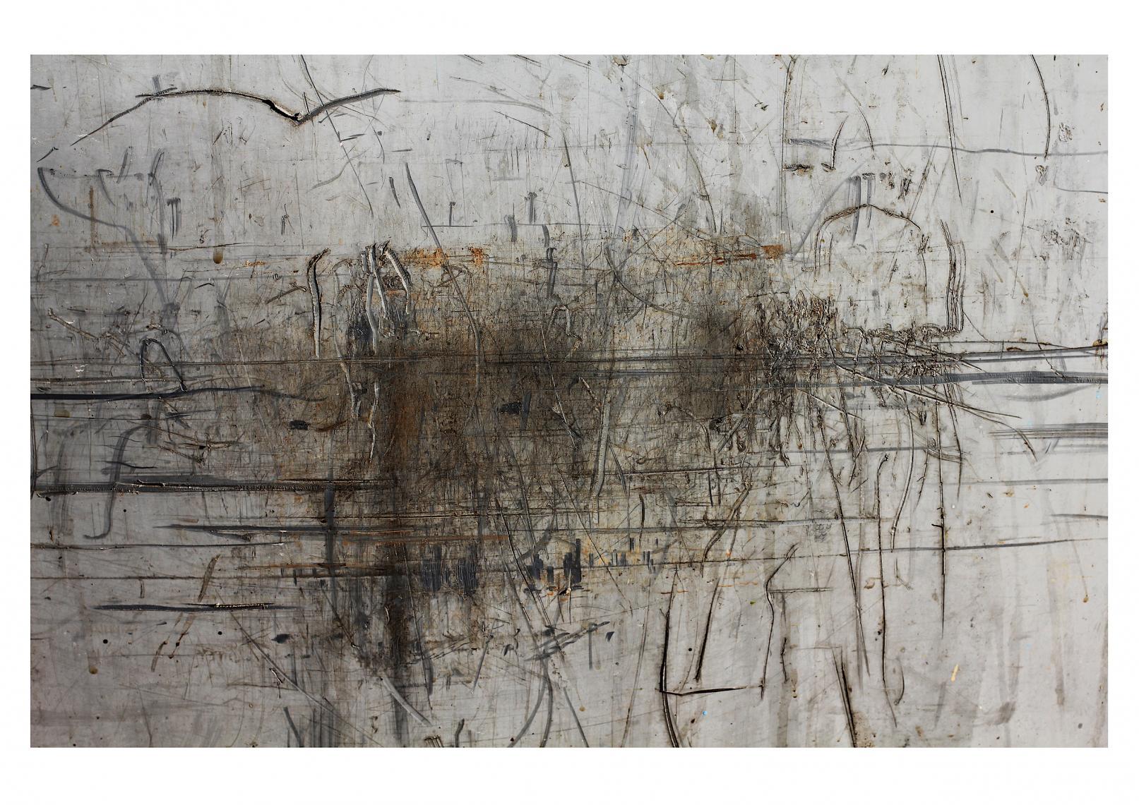 Vedado-Havana (Trash Painting IV) (2017) - David Beltrán