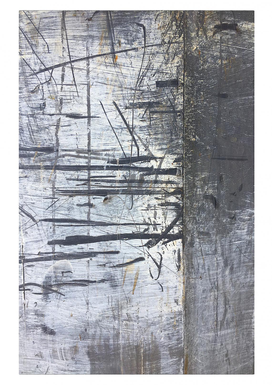 Vedado-Havana (Trash Painting IX) (2017) - David Beltrán