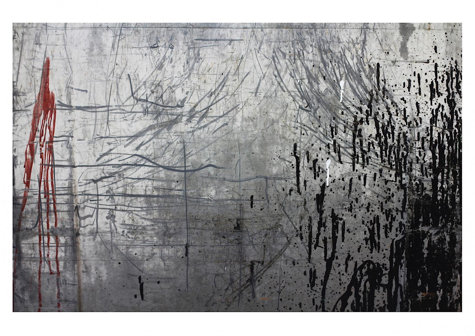 Vedado-Havana (Trash Painting III) (2017) - David Beltrán