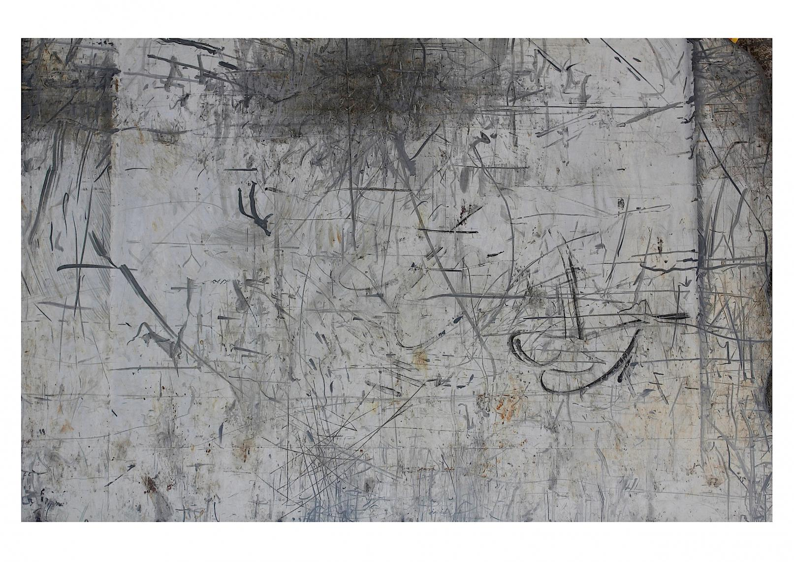 Vedado-Havana (Trash Painting VI) (2017) - David Beltrán