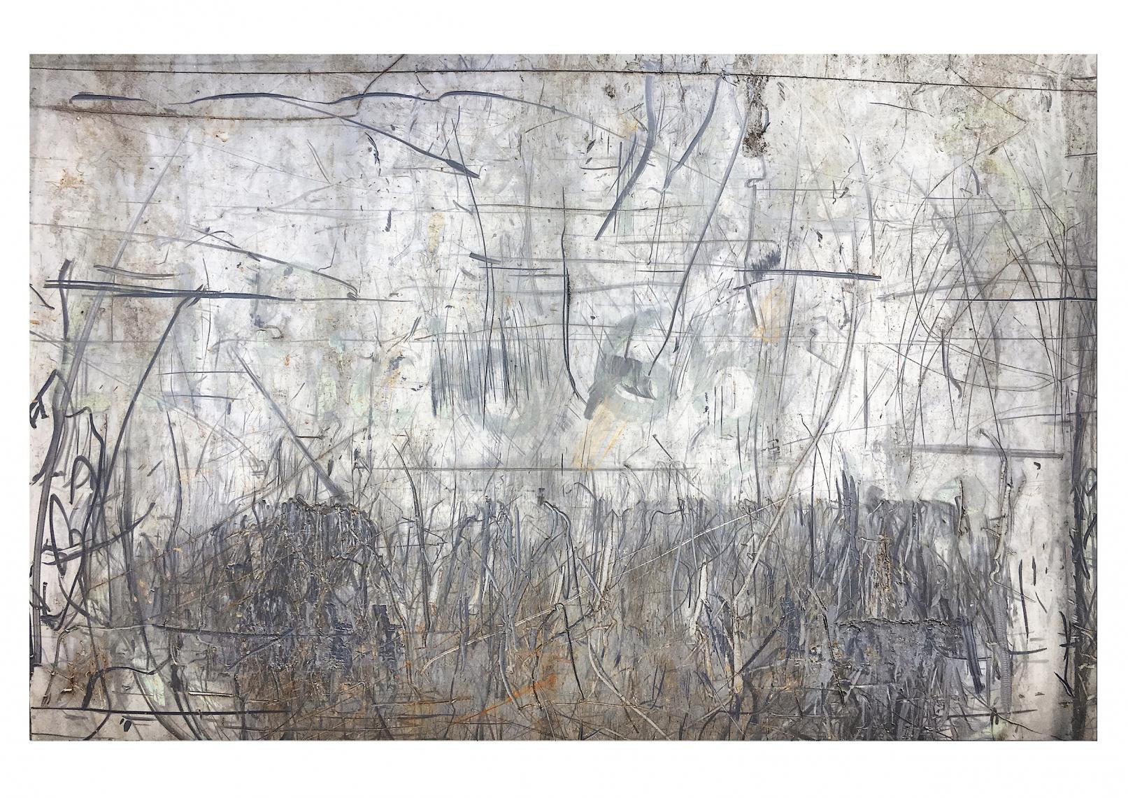 Vedado-Havana (Trash Painting VIII) (2017) - David Beltrán