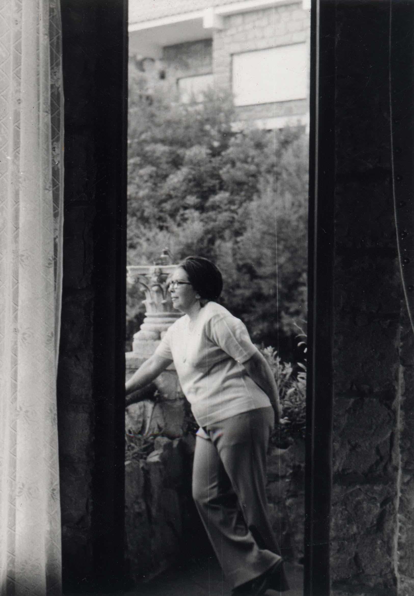 Autorretrato (1973) - Belkiss Adrover de Cibrán
