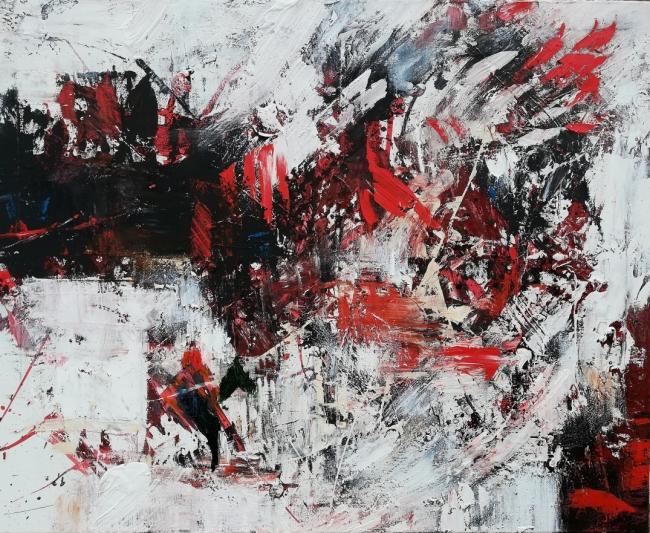 """""""Jinete IV"""" (81x100)"""