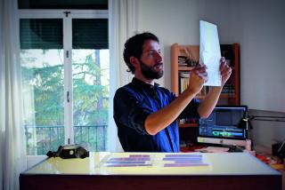 Visual: Vista del estudio - Iván Castiñeiras — Cortesía de CRUCE-Arte y pensamiento