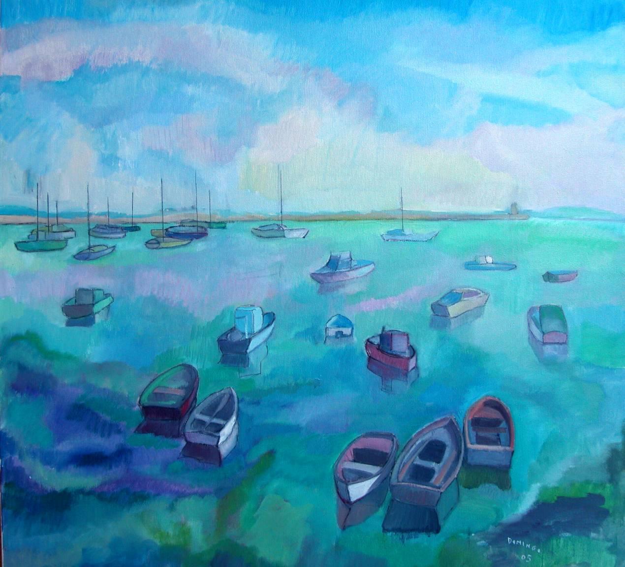 Puerto de La Coruña (2005) - Mª José Domingo Pérez-Ugena - Pepa Domingo