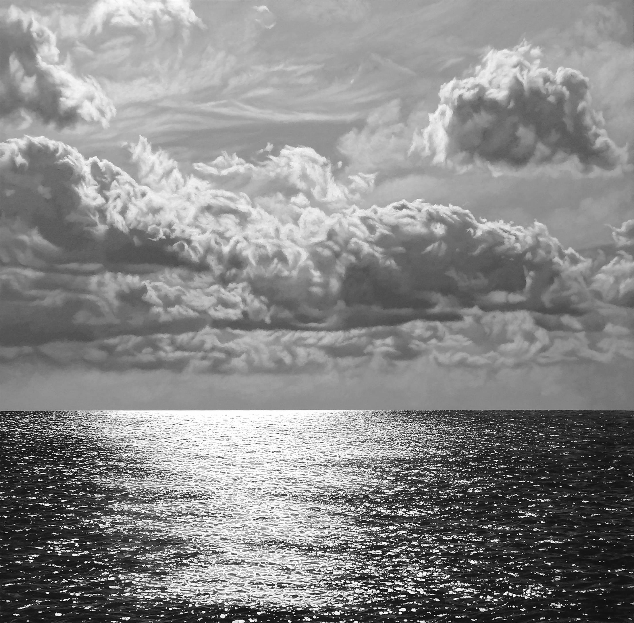 Mar y cielo en gris atardecer (2013) - Luis Antonio Espinosa Fruto