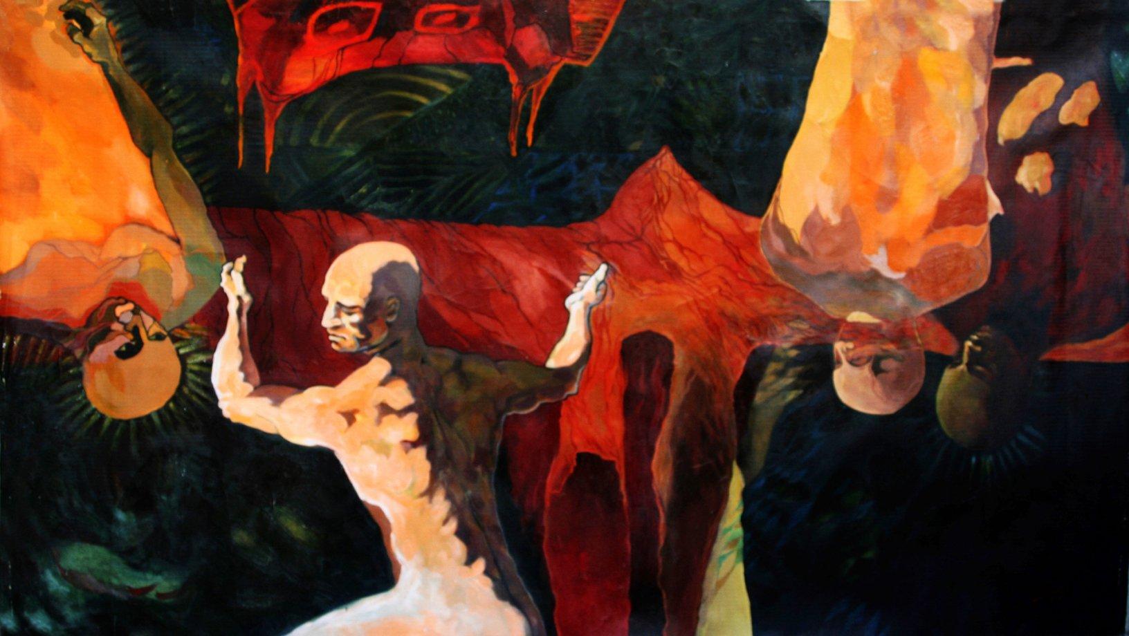 DE LA SERIE ASOMBRO DE MIS SOMBRAS (2005) - Frank Govin