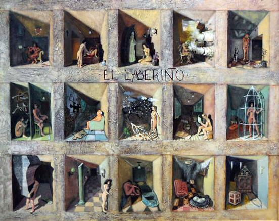 EL LABERINTO (2016) - Frank Govin