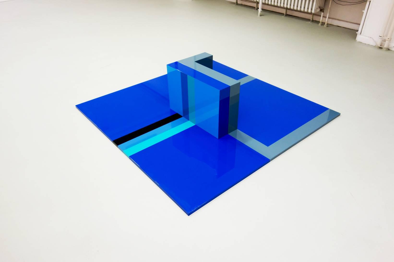 Flat Cube 1 (2019) - Martim Brion