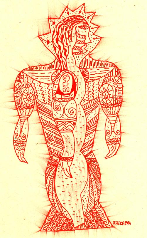 Hombre Rojo (2001) - Raúl Moarquech Ferrera-Balanquet