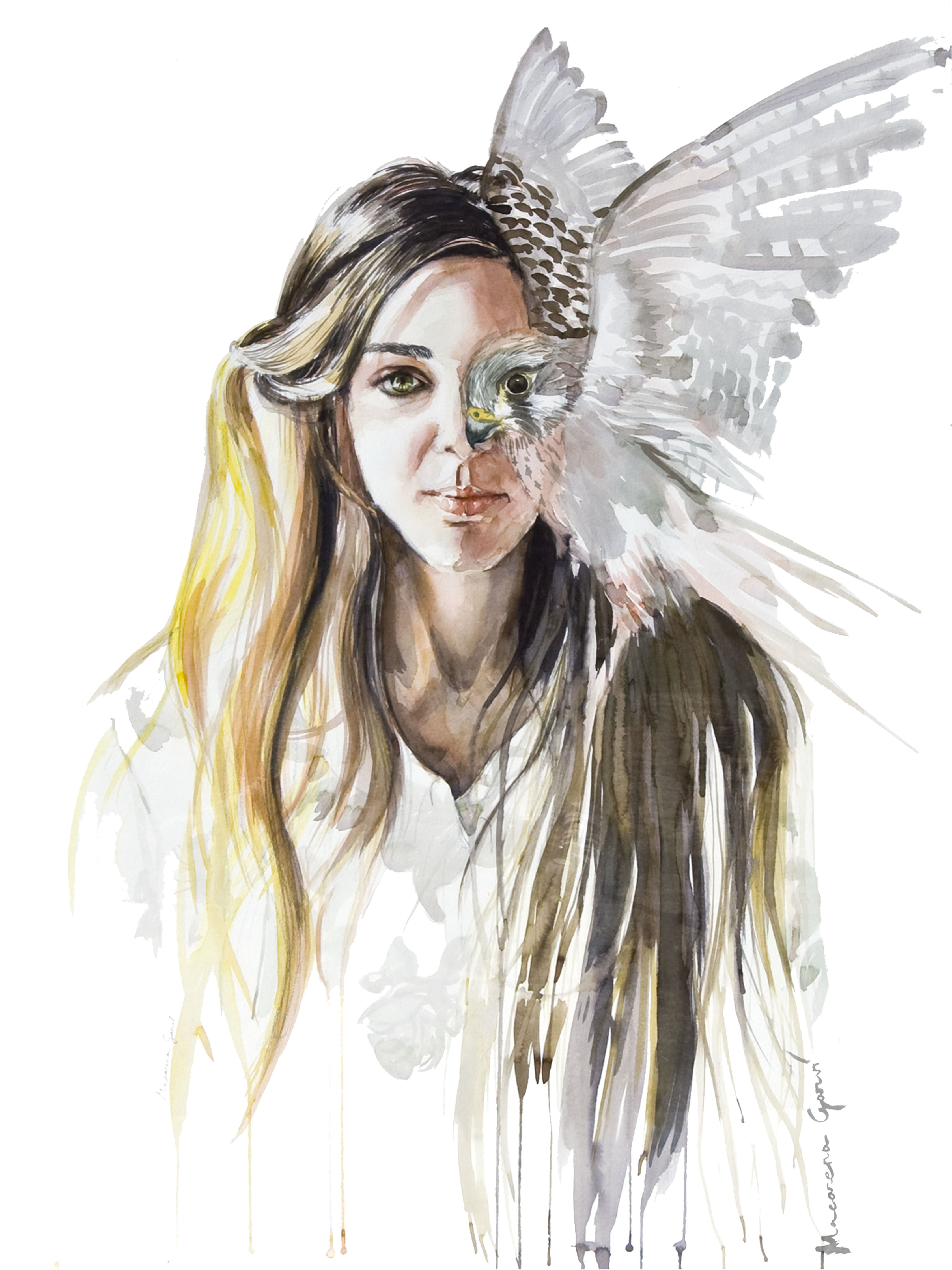 Mujer pájaro (2017) - Macarena Garví
