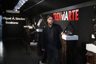 Miguel A. Sánchez Sanz. Escultor