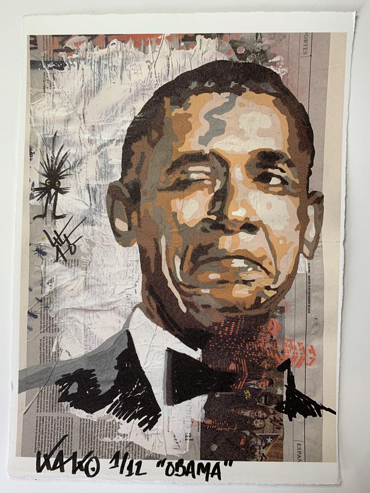 Obama (2020) - Kako Street Art