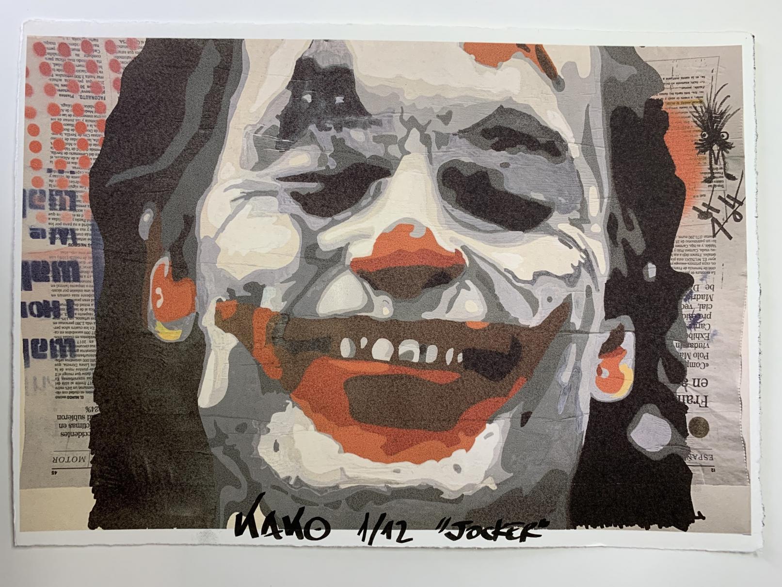 Joker (2020) - Kako Street Art